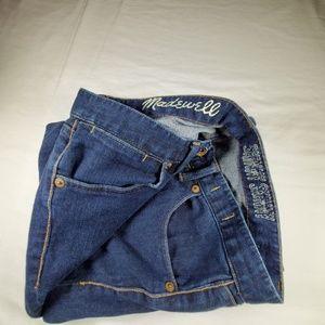 Madewell Skinny Skinny Dark Wash Jean's. Sz 27/32.